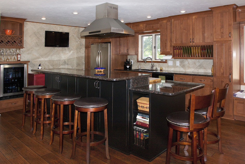 Custom Kitchen Island 2