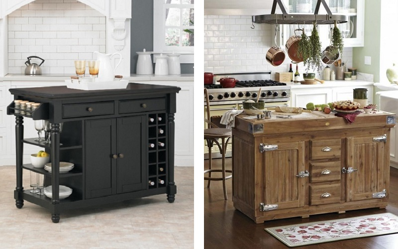 Blog green bay custom cabinets - Small kitchen island with storage ...