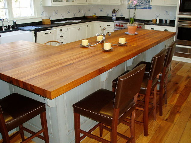 Butcher Block and Wood Countertops | Green Bay Custom Cabinets