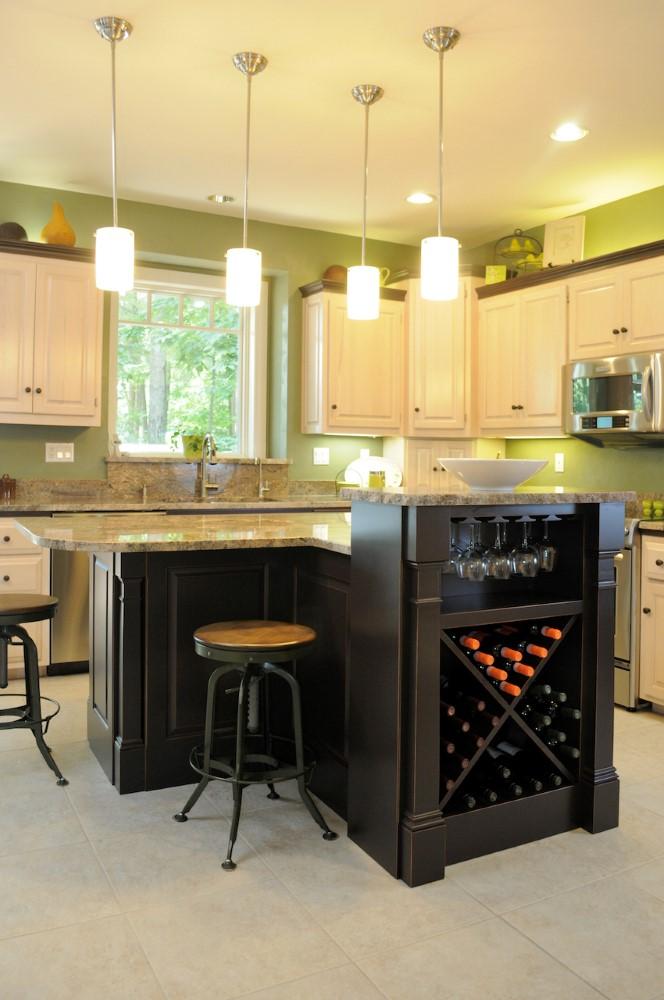 Elegant Cabinets-wine rack