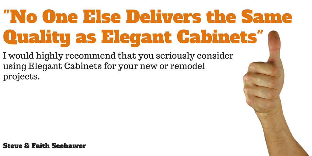 -No One Else Delivers the Same Quality as Elegant Cabinets-